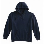 Pull-Over Hooded Sweatshirt - Navy