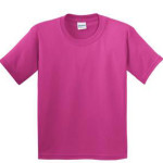 Solid Color Tee - Bright Pink