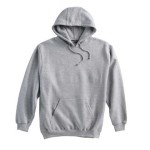 Pull-Over Hooded Sweatshirt - Grey
