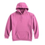 Pull-Over Hooded Sweatshirt - Shocking Pink