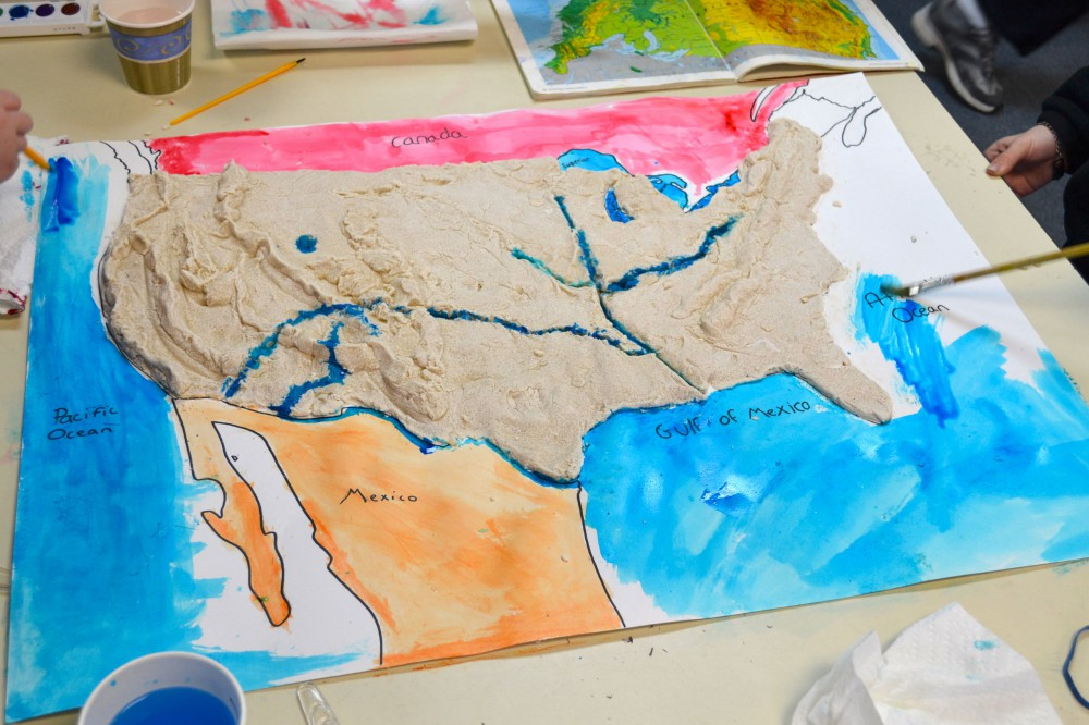 Remember Making Salt-Dough Maps? | BFCCPS