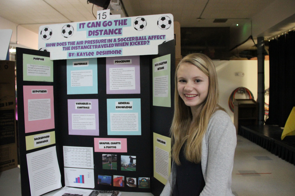 soccer science fair projects High school science science projects: soccer physics: does the amount of air   science fair projects soccer ball pressure |  and speed of the air flowing.