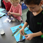 Eric Carle Inspired Creatures