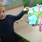 Eric Carle Inspired Creatures-4